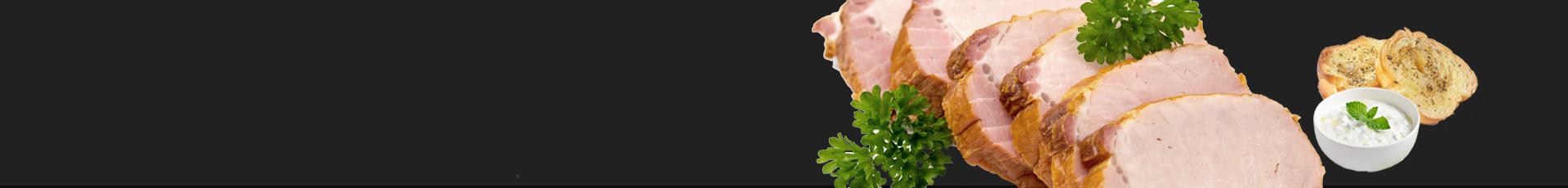 Saftiger griechischer Schweinerücken